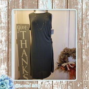 NWT Shirred Side Dress
